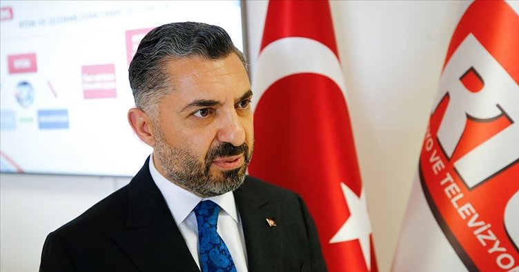 RTÜK Başkanı Ebubekir Şahin'den corona virüs yayını açıklaması