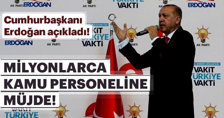 Son dakika: Cumhurbaşkanı Erdoğan müjdeyi verdi! Ek gösterge nedir?
