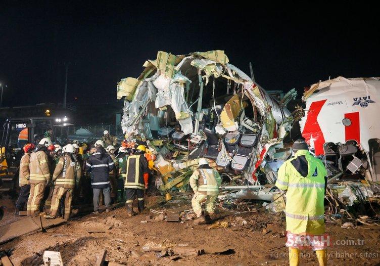 Son dakika: Yaralı yolcu o anları anlattı! Uçak piste indikten sonra...