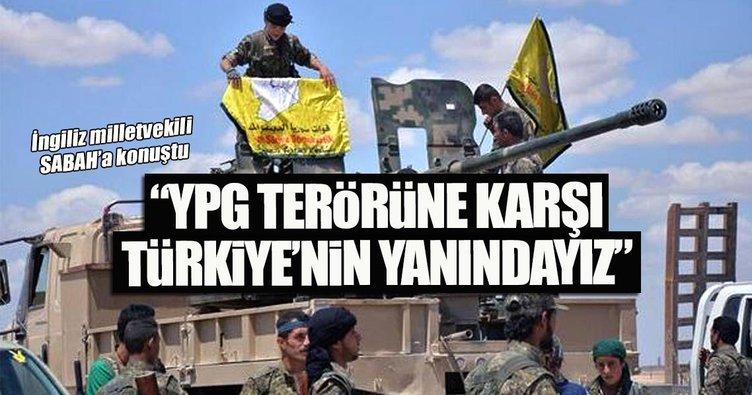 YPG terörüne karşı Türkiye'nin yanındayız