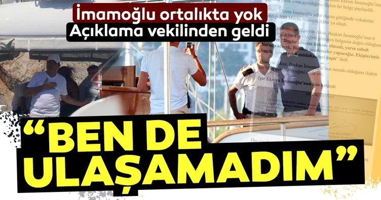 İstanbul sel felaketi yaşarken ortalıkta görünmeyen İBB Başkanı İmamoğlu ile ilgili ilk açıklama Başkan vekilinden geldi: Ben de ulaşamadım