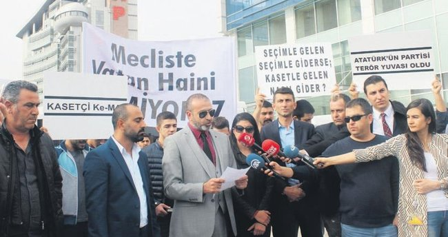 HDP'yi savunan CHP'nin liderine kasetli kınama