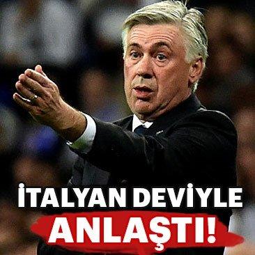 Napoli'de yeni teknik direktör Carlo Ancelotti