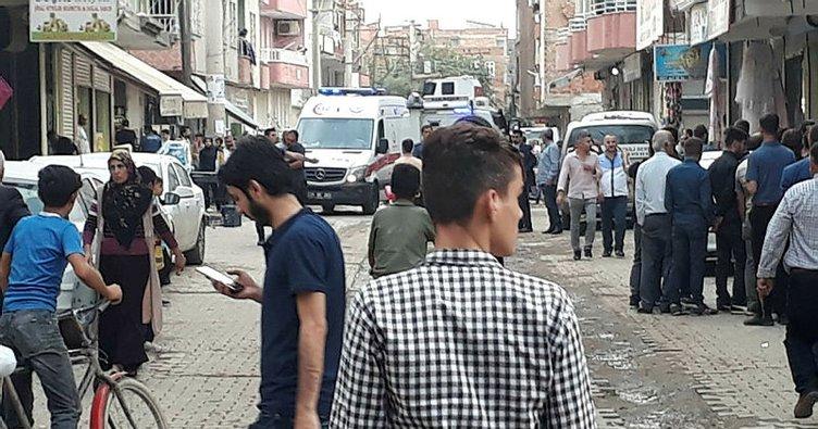 Diyarbakır'ın Bismil ilçesinde silahlı kavga