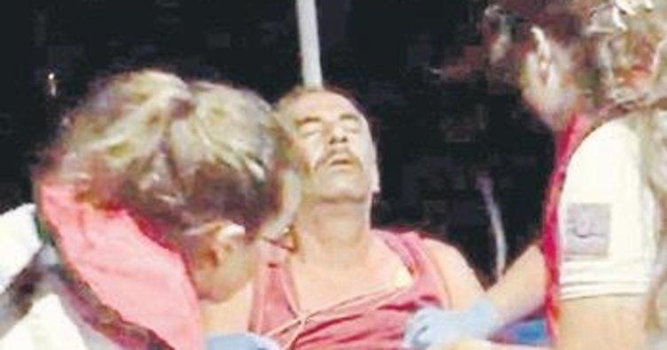 Kaptan teknede kalp krizi geçirdi