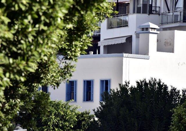 Bodrum evleri neden beyaz?