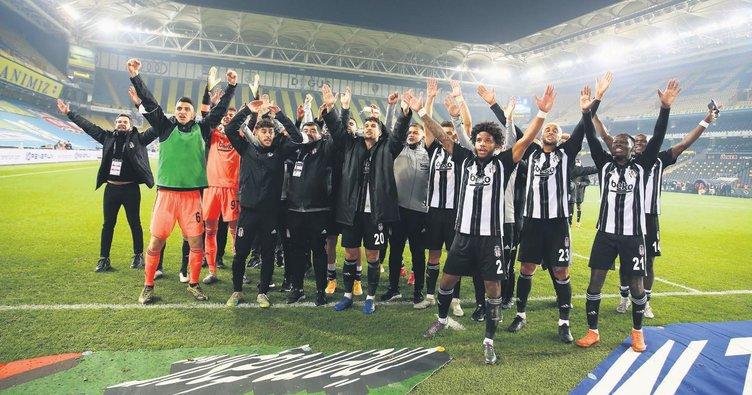 Derbi gibi derbi Beşiktaş'ın