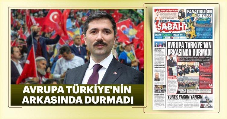 Avrupa Türkiye'nin arkasında durmadı