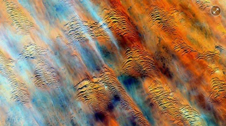 Uzaydan çekilmiş etkileyici dünya fotoğrafları