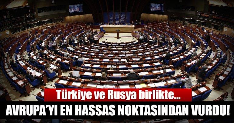 Ankara, Avrupa'yı en hassas noktasından vurdu!