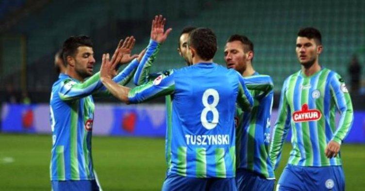 Rizespor, Tuszynski ile yollarını ayırdı