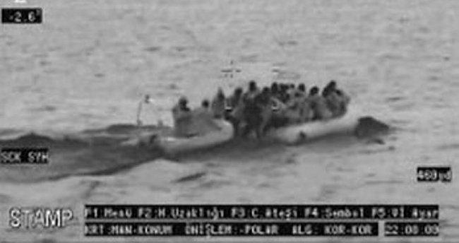 54 mülteci yakalandı!