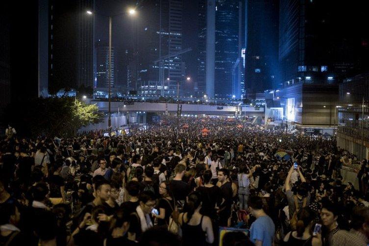 Hong Kong'a 'dijital Çin seddi'