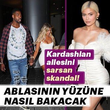 Kardashian ailesini sarsan skandal!