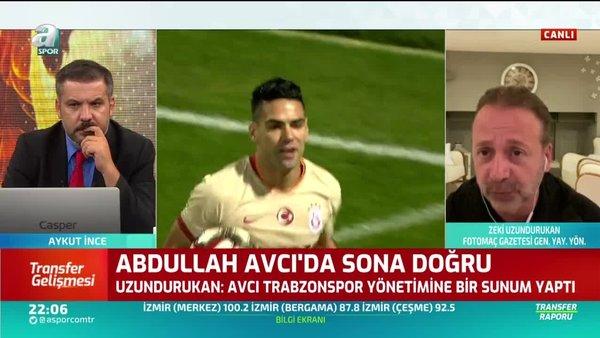 Galatasaray'ın istediği yıldızları canlı yayında açıkladı! Belhanda ve Falcao'nun yerlerine...