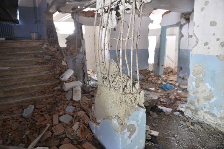 PKK'nın okullara saldırısı yürek burktu