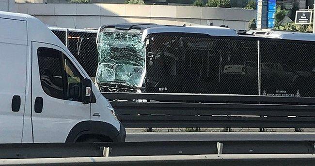 Son dakika: Küçükçekmece'de feci metrobüs kazası: 25 yaralı...