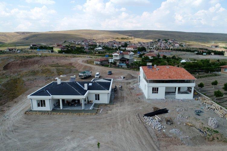 Kayseri'nin denizi köye dönüşü başlattı