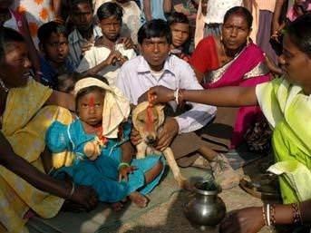 Hindistan'dan ilginç gelenekler