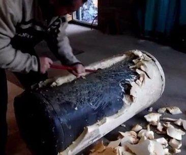 Çürümüş su ısıtıcısından bakın ne yaptı