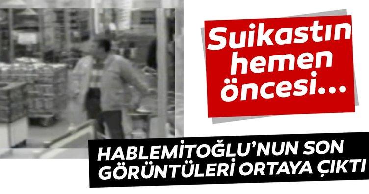 İşte Doç. Dr. Necip Hablemitoğlu'nun saldırıya uğramadan önceki son görüntüleri