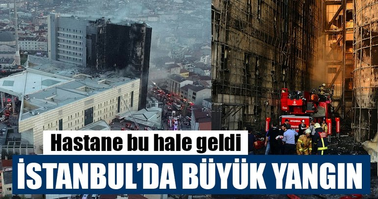 Son Dakika Haberi: Gaziosmanpaşa Taksim İlk Yardım Hastanesi'nde yangın çıktı