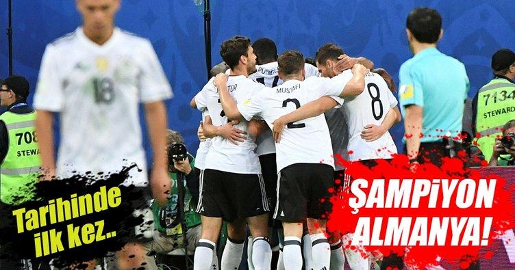 Şampiyon Almanya!