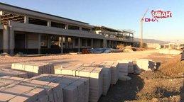 Tokat'ta, yüzde 65'lik kısmı tamamlanan yeni havaalanı böyle görüntülendi