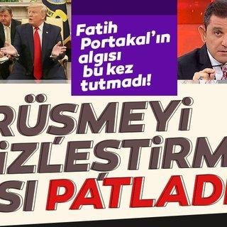Fatih Portakal'ın algısı bu kez tutmadı! Önemli görüşmeyi etkisizleştirme çabası patladı