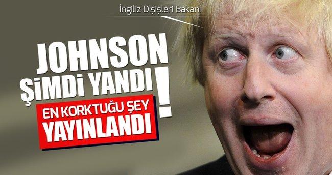 Boris Jhonson'un korktuğu şey yayınlandı