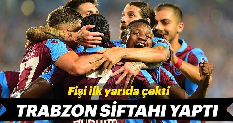 Trabzon evinde Sivasspor'u 3-1 mağlup etti