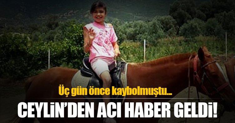 Kaçırılan 10 yaşındaki Ceylin ölü bulundu