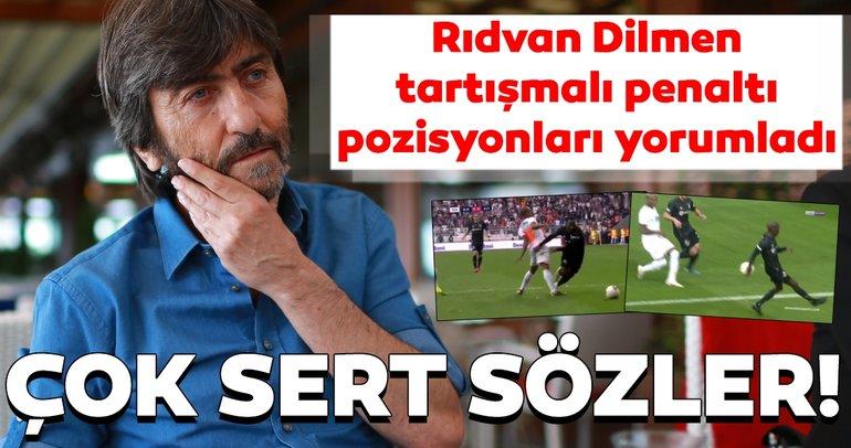 Beşiktaş - Alanyaspor maçı sonrası Rıdvan Dilmen'den flaş penaltı yorumu