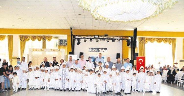 Karacabey Belediyesi 65 çocuğu sünnet ettirdi