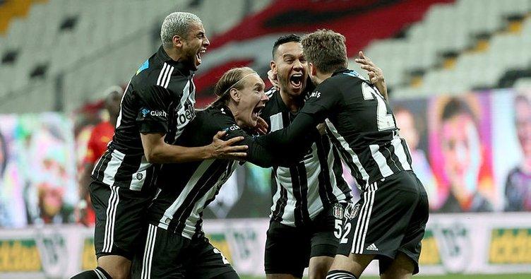 Son dakika: Beşiktaş evinde 8'de 8 yaptı! Adem Ljajic geri döndü...