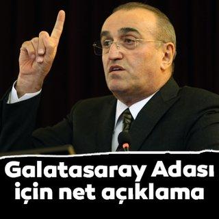 Abdurrahim Albayrak'tan Galatasaray Adası açıklaması