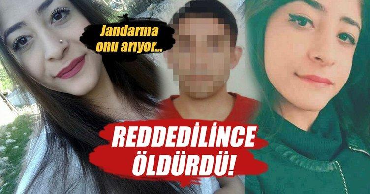 Arkadaşlık teklifini kabul etmeyen genç kızı öldürdü