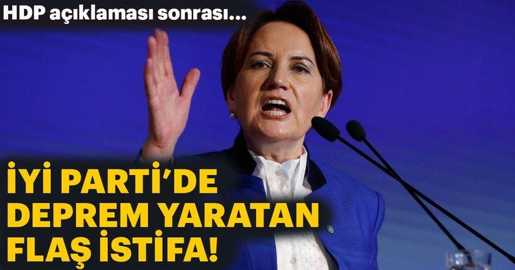 Son dakika: Yörük Ali Paşa, Akşener'in HDP açıklaması nedeniyle İyi Parti'den istifa etti