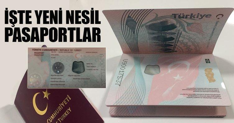 İşte yeni nesil pasaportlar