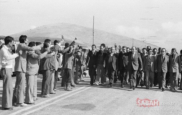 Ülkücü Hareketin lideri Alparslan Türkeş'in 23. ölüm yıl dönümü