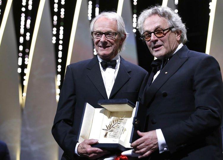 69. Cannes Film Festivali ödül töreninden kareler