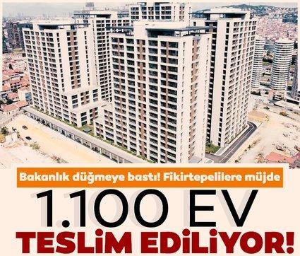 Yarım kalan projede 1.100 ev teslim ediliyor