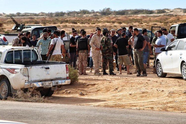 Libya'da Hafter milislerinden kurtarılan kentte bir konteynerde çok sayıda ceset bulundu