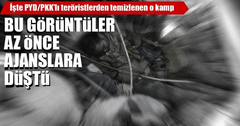 Son Dakika Haberi: Burseya Dağı'ndaki PKK/PYD kampı görüntülendi