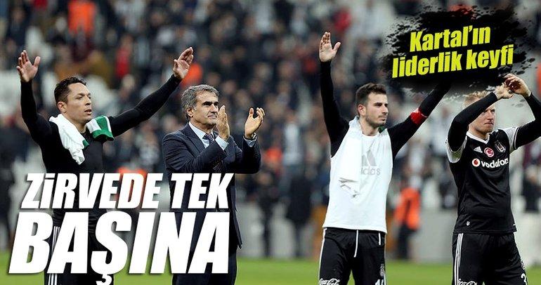 Beşiktaş'ın zirve keyfi