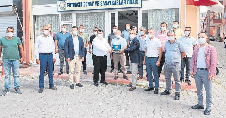 AK Partili ilçelerde yatırımlar hız kazandı