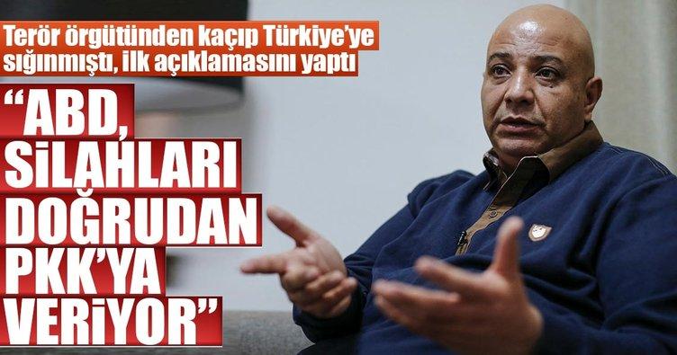 ABD, tüm silahları doğrudan PKK'ya veriyor