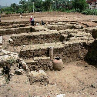Kahire'de 2 bin yıllık tarihi kalıntı bulundu