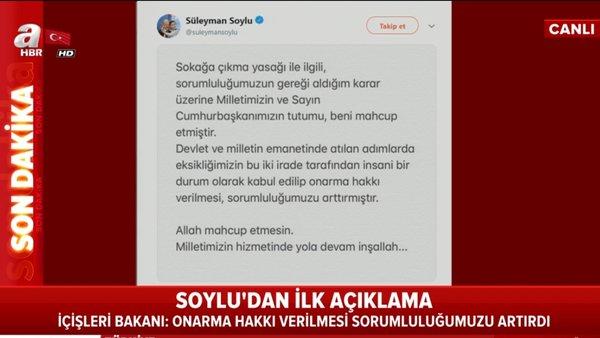 Son dakika: İçişleri Bakanı Süleyman Soylu'dan ilk açıklama