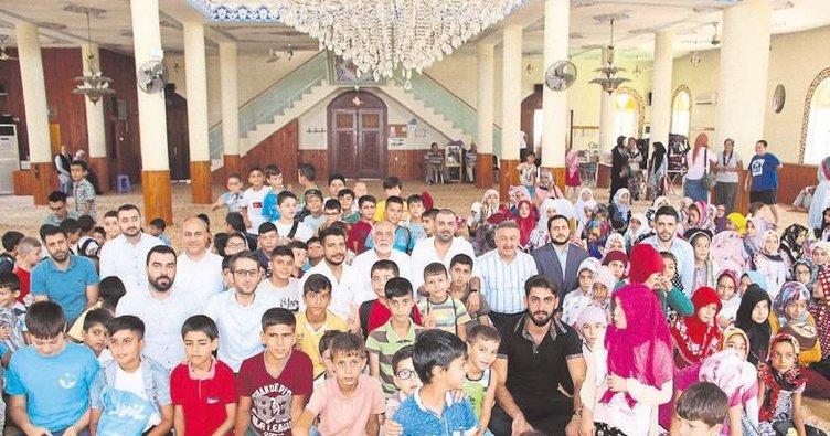 'Bu yaz camideyim' projesinin finali gerçekleşti